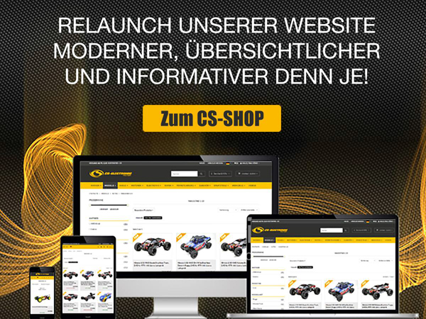 CS Electronic Neuer CS-Shop