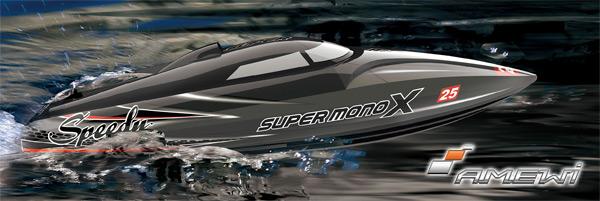 Amewi Super Mono X V3 Brushless Mono-Rumpf