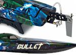 Amewi Bullet V4 Mono-Rennboot 4S bl ARTR