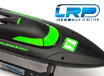 LRP Deep Blue 340 Schwarz/Neongrün