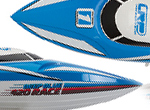 LRP Deep Blue 420 Race Boot Combo