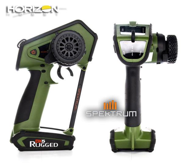 Horizon Hobby DX5 Rugged DSMR TX Only, Green