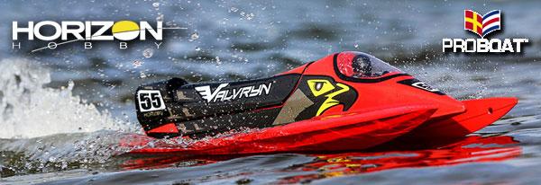 Horizon Hobby Boat Valvryn 25´ F1 Tunnelboot