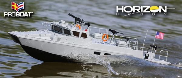 Horizon Hobby Riverine Patrol Boat 22-inch