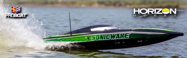 "Horizon Hobby Pro Boat® Sonicwake 36"" Deep V"