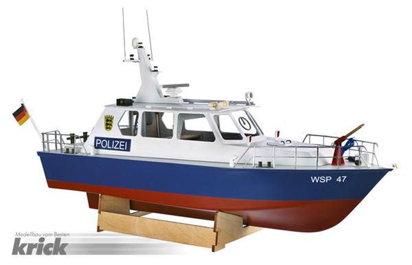 Krick Polizeiboot WSP47 Bausatz