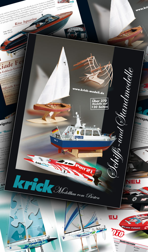 Krick Krick Schiffs- und Standmodell Katalog