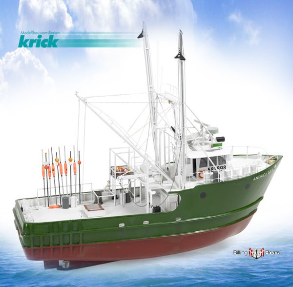 Krick Andrea Gail 1:30 RC-Schiffsbausatz