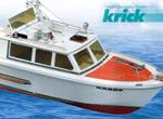 Krick Kadett Motorboot R/C-Baukasten