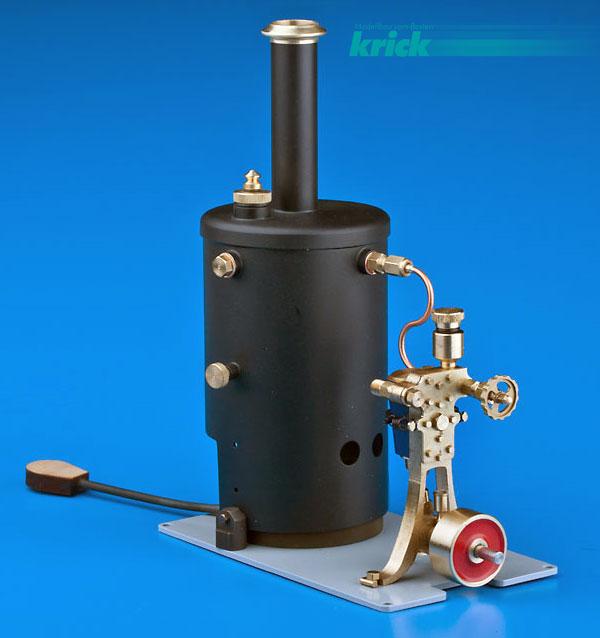 Krick Dampfmaschine Anna Vers.2 mit Kessel