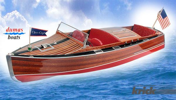 Krick Chris-Craft Sportboot 24 ft. 1930