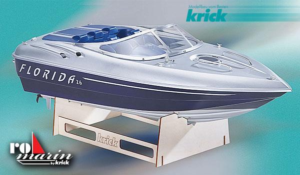 Krick Florida Motorboot Baukasten 1:10