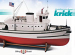 Krick Hoga Pearl Harbor Schlepper 1:50 Kit