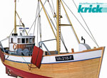 Krick Garnelenkutter MS Conny 1:25 Kit
