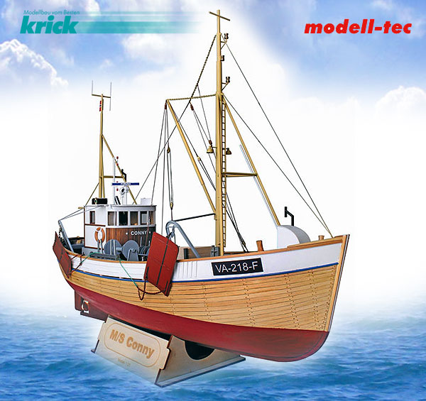 Krick Garnelenkutter MS Conny 1:25 Kit