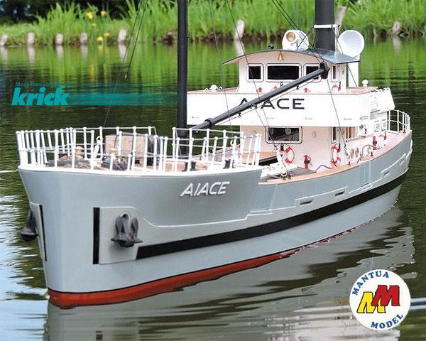 Krick Aiace Frachtschiff Bausatz