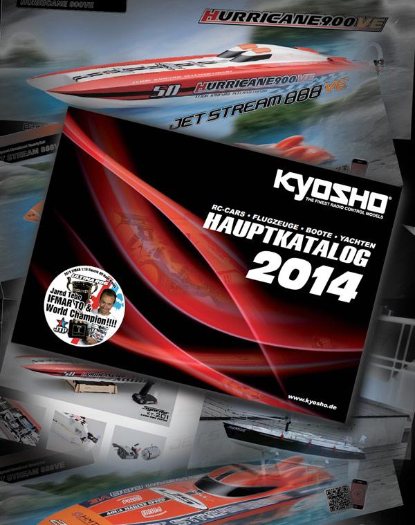 Kyosho Kyosho Hauptkatalog 2014