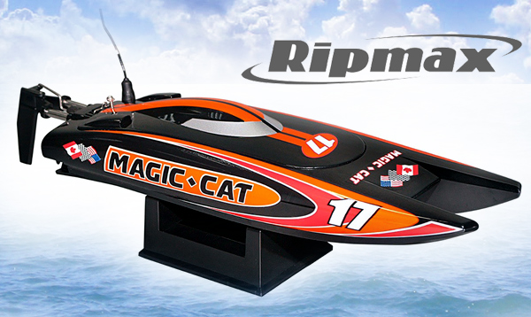 Ripmax Magic Cat V4 RTR Rennboot