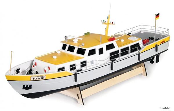 robbe Modellsport Stromaufsichtsboot Bussard