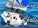 Thunder Tiger Offshore Segel Racer  Challenger 800